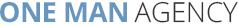 ONE MAN AGENCY Logo